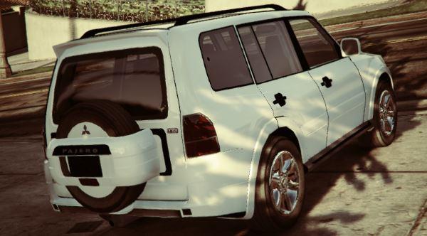 Mitsubishi Pajero 2007 LWB для GTA 5