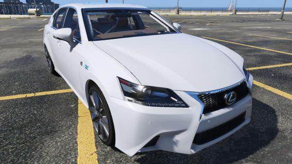 Lexus GS350 F Sport 2013 для GTA 5