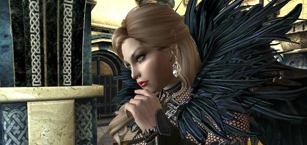 Габриэлла Высокий Эльф озвученный автономный компаньон для TES V: Skyrim