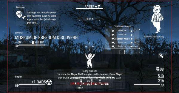 DEF UI v 1.3.1 для Fallout 4