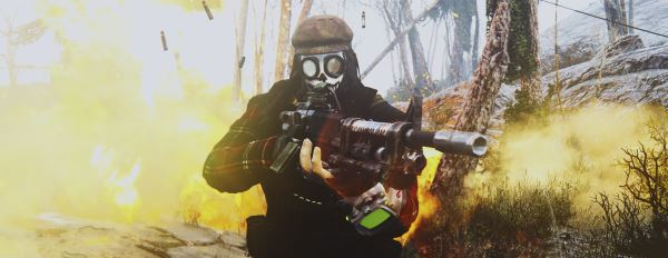 Лёгкий пулемёт WH-77 / WH-77 Modular L.S.W для Fallout 4