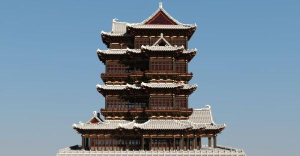 Chinese Ancient Architecture 2 для Minecraft 1.8.9