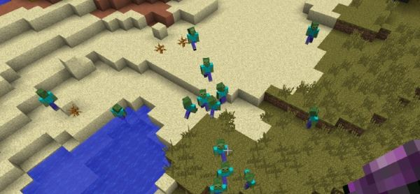 CrackedZombie для Minecraft 1.9