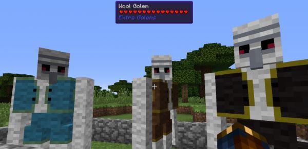 Extra Golems для Minecraft 1.9