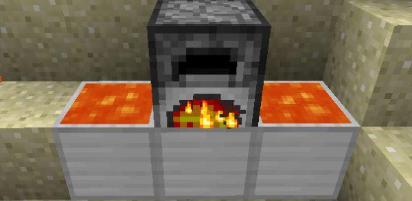 Lava Furnace для Minecraft 1.7.10
