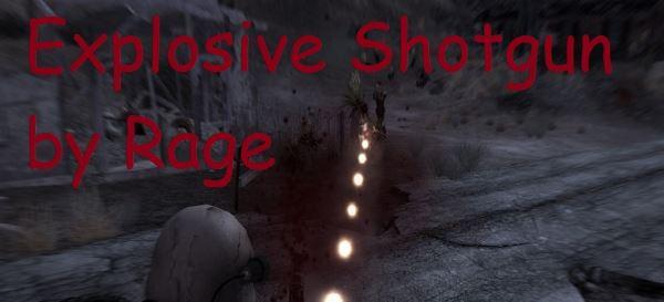 Explosive Shotgun для Fallout: New Vegas