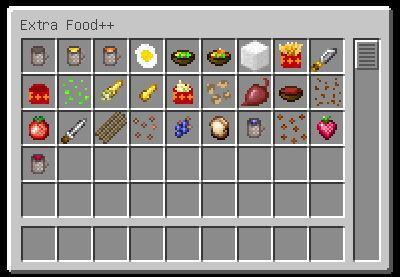 More Extra Food для Minecraft 1.9