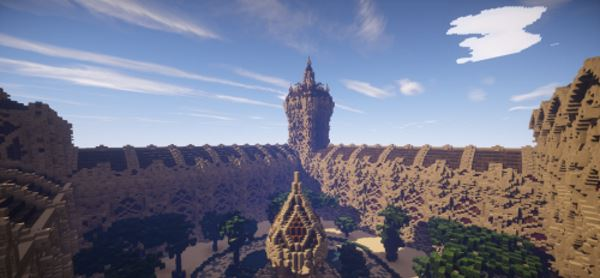 The Palace of Aerendy для Minecraft 1.9.2