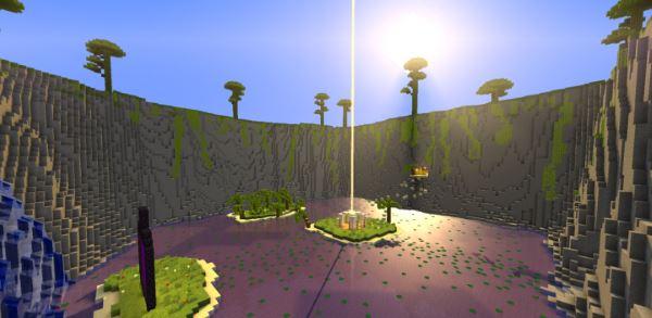 Parkour Paradise для Minecraft 1.8.9