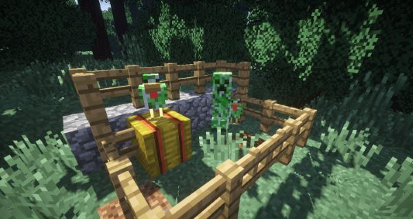 Creeper Chickens для Minecraft 1.8