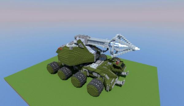 Type-92 Maser Beam Tank для Minecraft 1.8.9