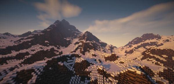 Blackstone Peaks для Minecraft 1.8.9