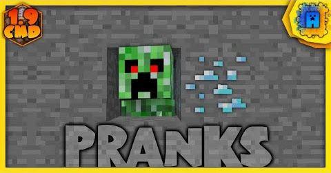 Pranks для Minecraft 1.9.2