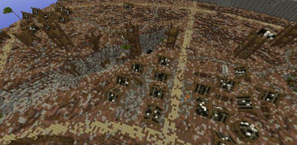 Isengard - Ruined Fortress для Minecraft 1.9.2