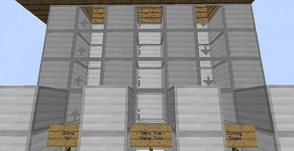 Elevator для Minecraft 1.9