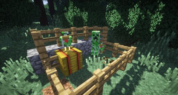 Creeper Chickens для Minecraft 1.8