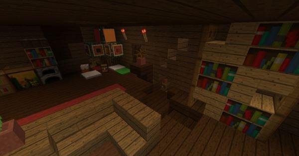 Новогодняя карта - by Dwayne для Minecraft 1.8.9