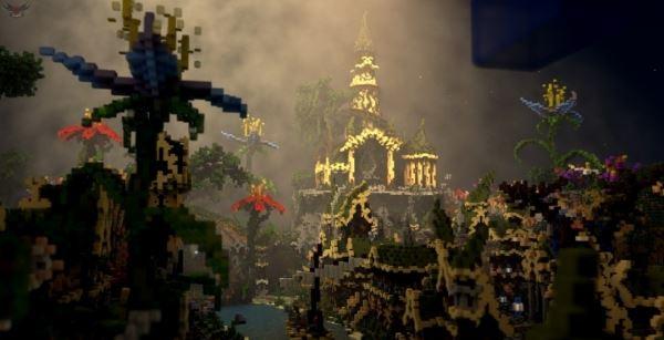 La Cité Féerique для Minecraft 1.8.9