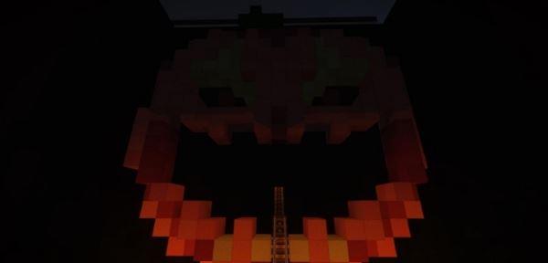 Halloween Roller Coaster для Minecraft 1.8.9