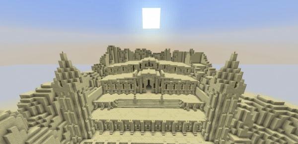 Desert Fortress для Minecraft 1.8.9