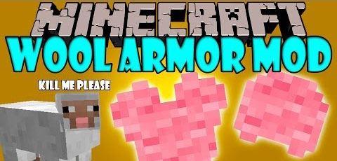Wool Armor для Minecraft 1.7.10