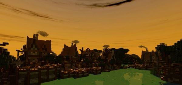 Spooky Village для Minecraft 1.8.9