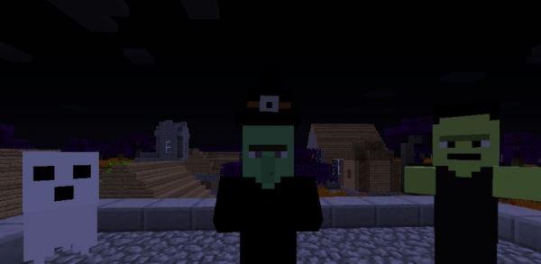 Mine-o-ween для Minecraft 1.8.9