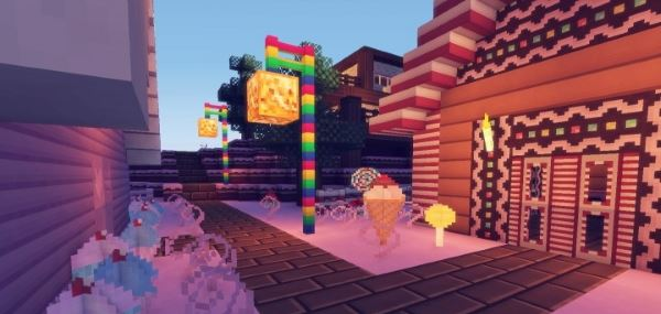 Candyland для Minecraft 1.8.9