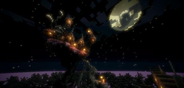 Haunted Mansion Halloween для Minecraft 1.8.9