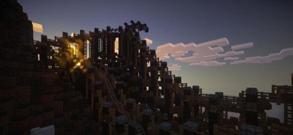 Scary Halloween Coaster для Minecraft 1.8.9