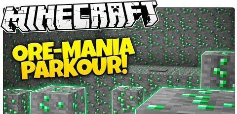 Parkour Mania для Minecraft 1.8.9