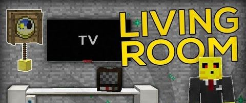 Living Room Furnitures для Minecraft 1.9.2