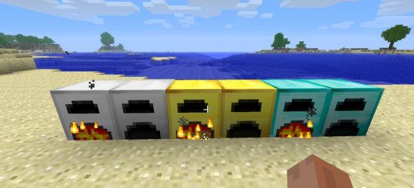 More Furnaces для Minecraft 1.9