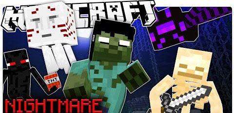 Nightmare Mode для Minecraft 1.8.8