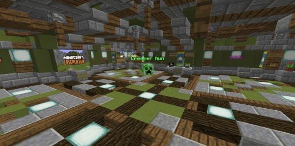 Creeper Run для Minecraft 1.8.9
