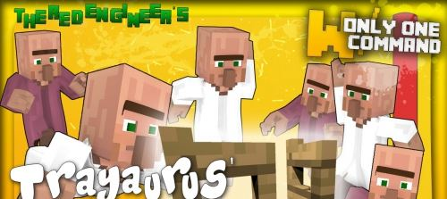 TRAYAURUS' ESCAPE для Minecraft 1.8.8