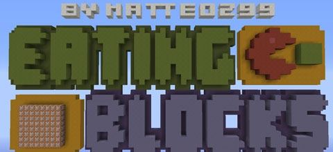 Eating Blocks для Minecraft 1.8.9