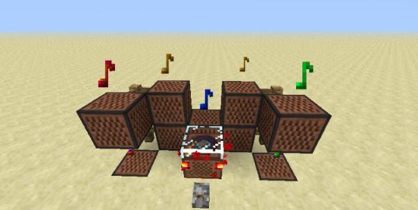 Redstone Jukebox для Minecraft 1.7.10