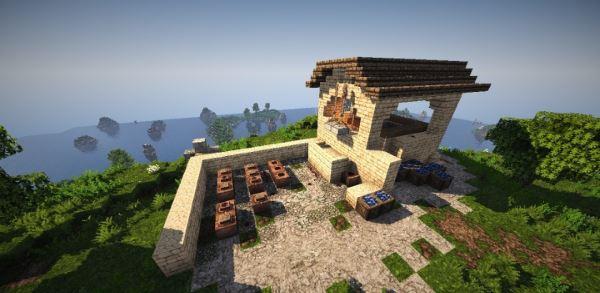 Roman Villa для Minecraft 1.7.10