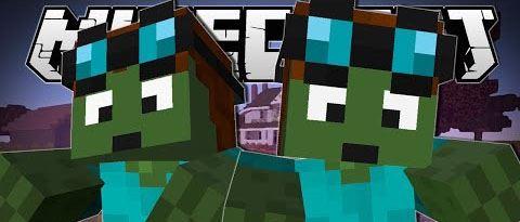 Hungry Zombie для Minecraft 1.7.10
