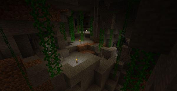 Wild Caves для Minecraft 1.8