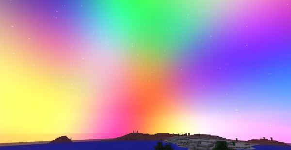Bring Color to my Skies для Minecraft 1.7.10