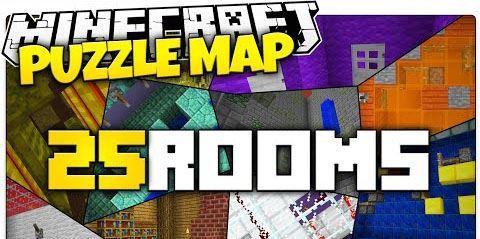 25 Rooms для Minecraft 1.8.9