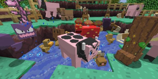 DIGLETT'S MINE для Minecraft 1.8.9