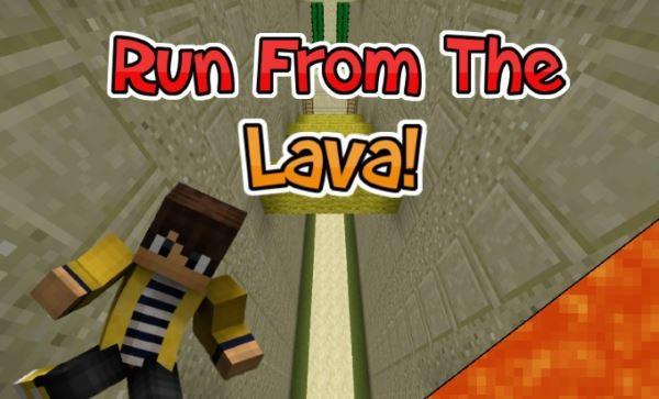 Super Lava Run для Minecraft 1.8.9