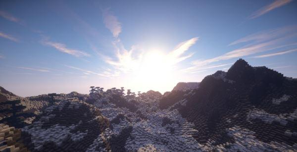 Angel Peaks для Minecraft 1.8.9