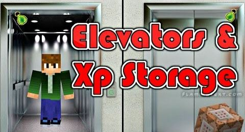 XP Storage and Elevators для Minecraft 1.8.8