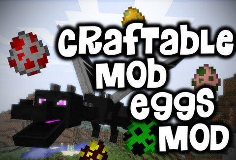 Craftable MobEggs ��� Minecraft 1.8