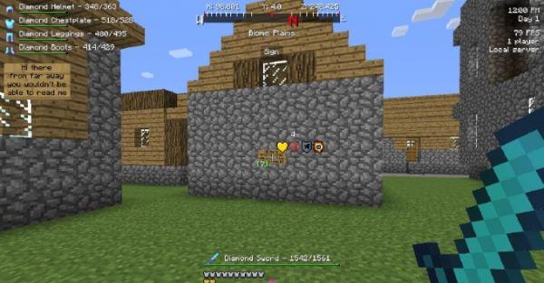 Better HUD для Minecraft 1.8
