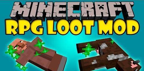 RPGLoot для Minecraft 1.8